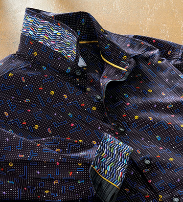 Arcade Pac-Man Long Sleeve Sport Shirt