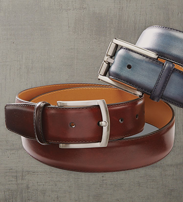 Mid Brown Dali Belt
