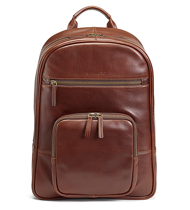 Dawson Leather Backpack