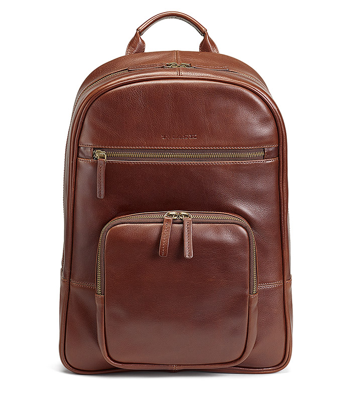 Trask Dawson Leather Backpack