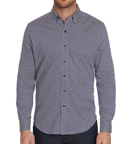 Miller Check Long Sleeve Sport Shirt
