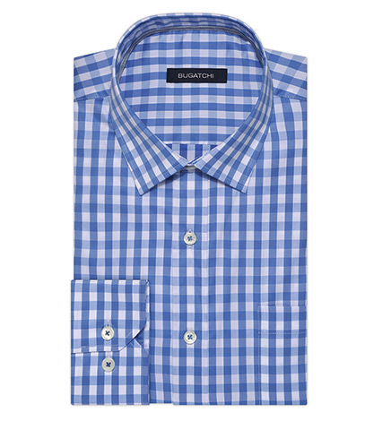Fresh Check Long Sleeve Sport Shirt