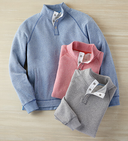 Cedar Springs Cotton Pullover
