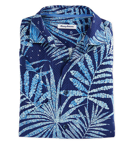 Through the Fronds Short Sleeve Sport Shirt