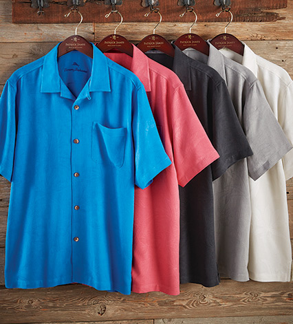 Al Fresco Tropics Short Sleeve Sport Shirt