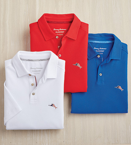 Performance Pique Knit Polo Shirt