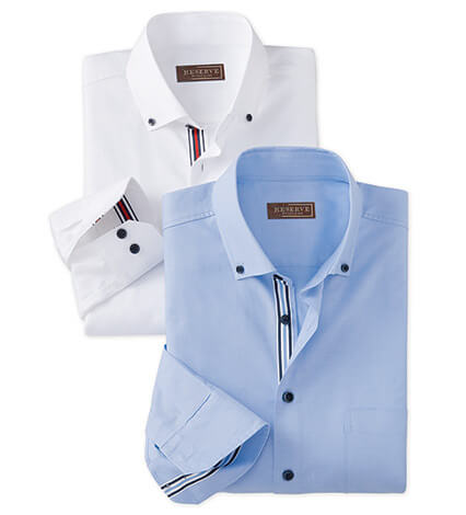 Solid Color Cotton Long Sleeve Sport Shirt