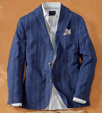 Chalk Stripe Sport Coat