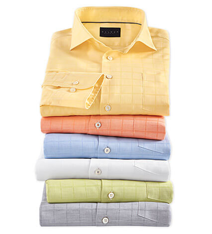Royal Oxford Long Sleeve Sport Shirt