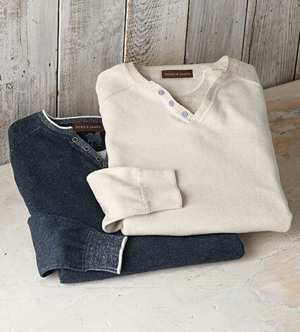 Reversible Venley Cotton Sweater