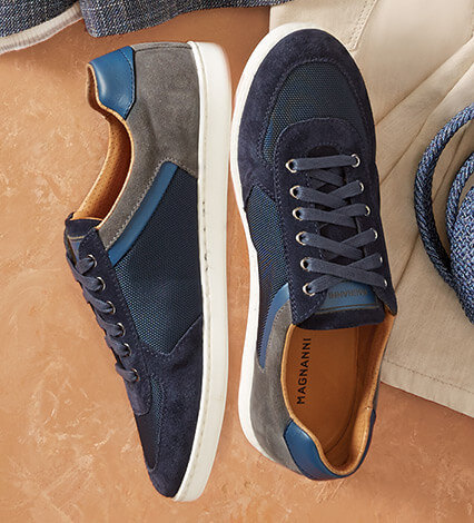 Echo Lo II Navy Sneakers
