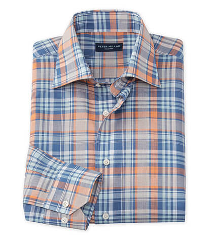 Solstice Madras Long Sleeve Sport Shirt