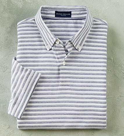 Spring Sails Short Sleeve Polo Shirt