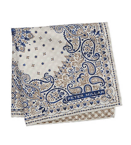 Marina Bandana Pocket Square