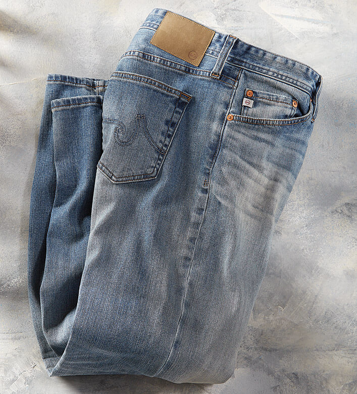 AG Graduate Distressed Jeans