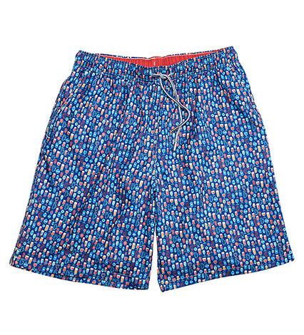 Shakers and Suds Swim Trunks