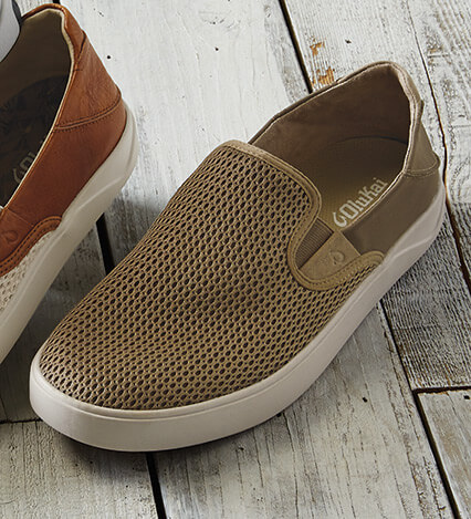 Lae'ahi Synthetic Microfiber Slip-On Sneakers