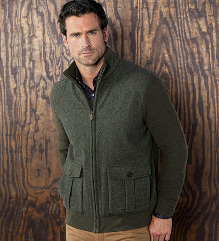 Lambswool Erro Jacket