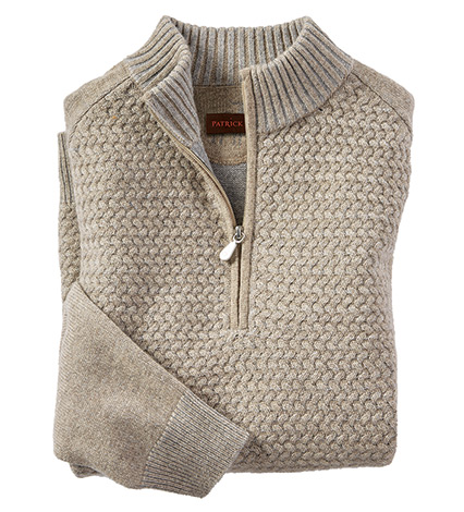 Basketweave Vanise Sweater