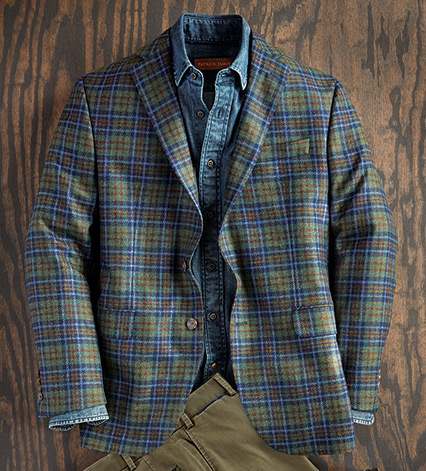 Harris Plaid Sport Coat