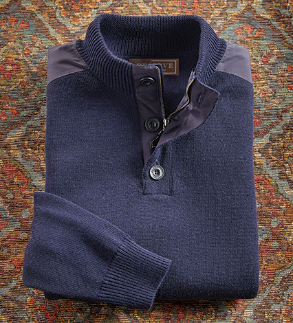 Dunsmore Merino Wool Sweater
