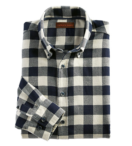 Mahoney Buffalo Check Long Sleeve Sport Shirt