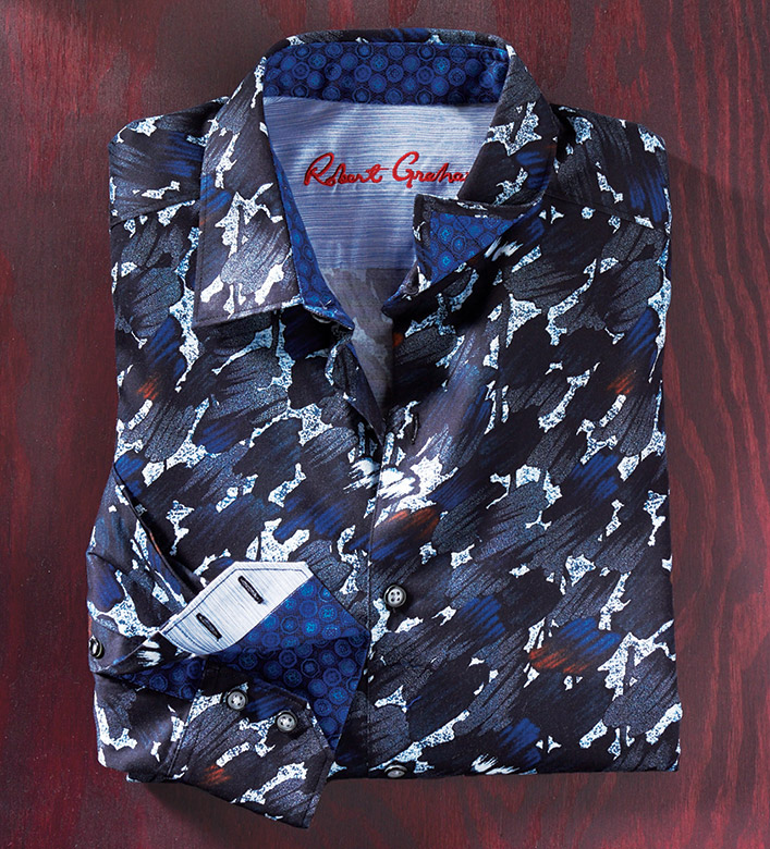 Robert Graham Amerigo Long Sleeve Sport Shirt