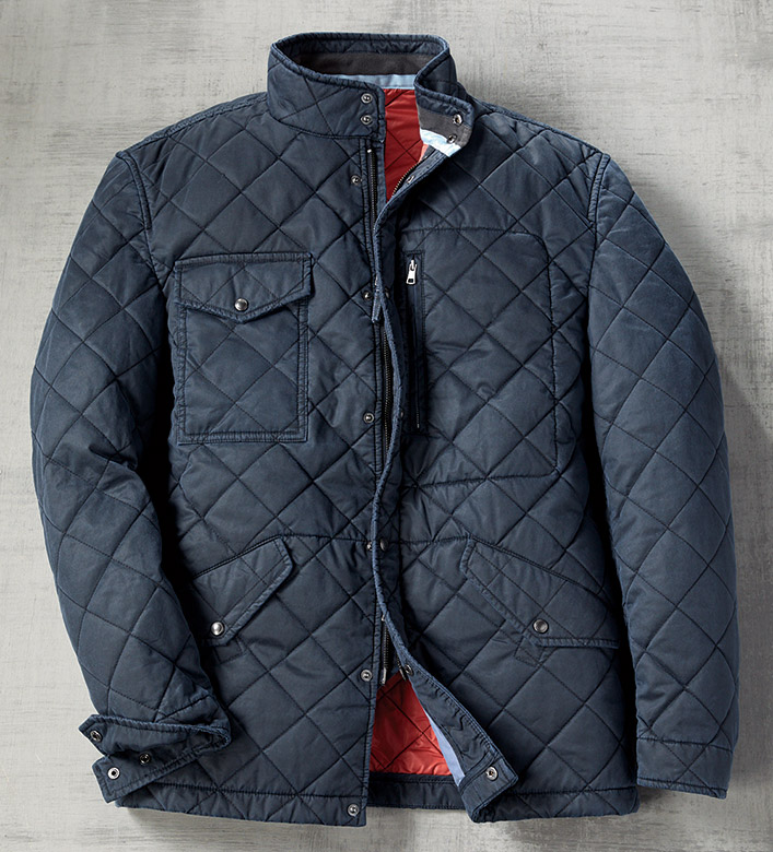 Johnnie-O Quilted Jacket