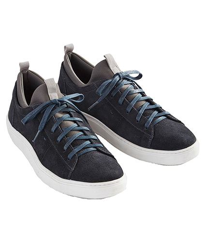 Midnight Suede Sneakers