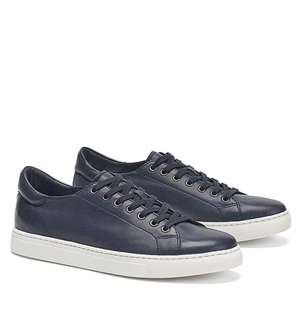 Alder Sheepskin Leather Sneakers