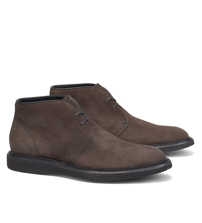 Trask Suede Chukka Boots
