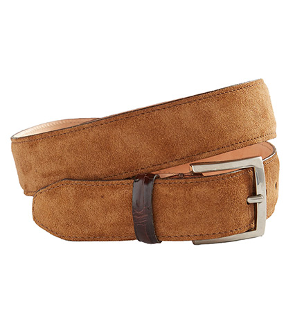 Safari Suede Belt