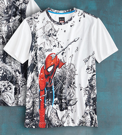 Spidey Battle Tee Shirt