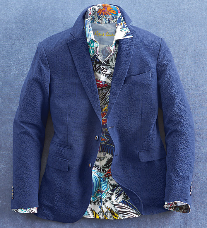 Robert Graham Seersucker Sport Coat
