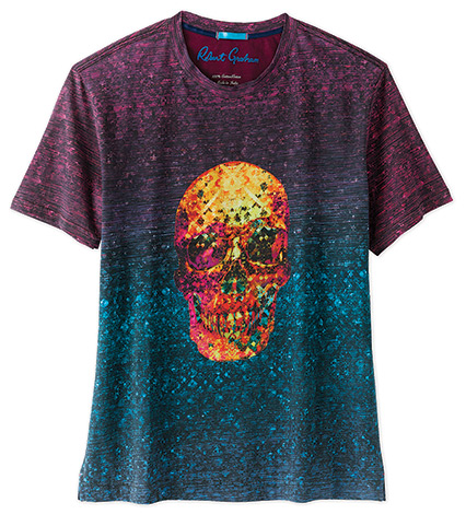 On Fire Skull Tee Shirt