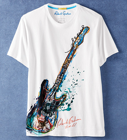 Rock Out Guitar Tee Shirt
