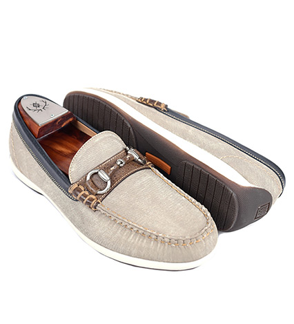 Seaside Canvas Slip-On Shoes