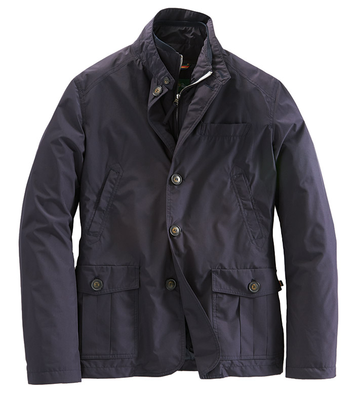 Alan Paine Hybrid Tech Jacket