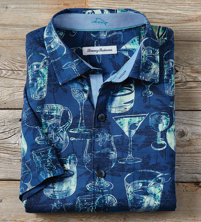 Tommy Bahama Bar None Camp Shirt