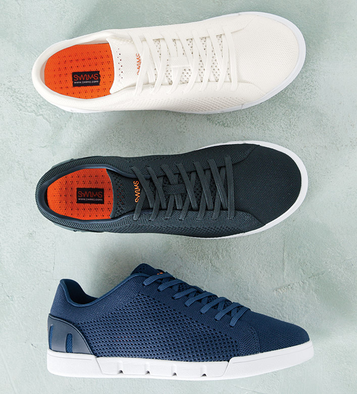 Swims Knit Tennis Sneakers