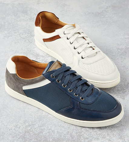 Navy Echo Sneakers