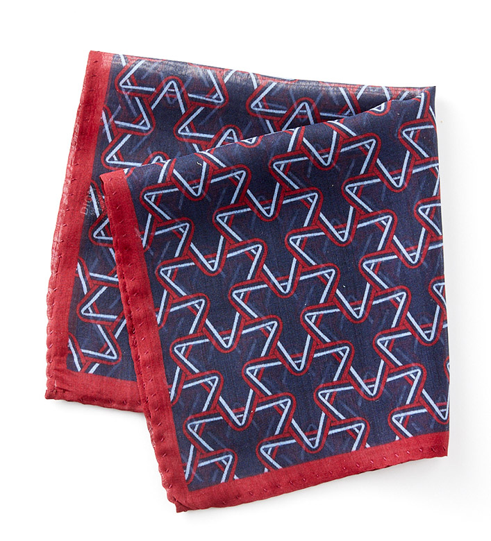 Patrick James Deco Pocket Square