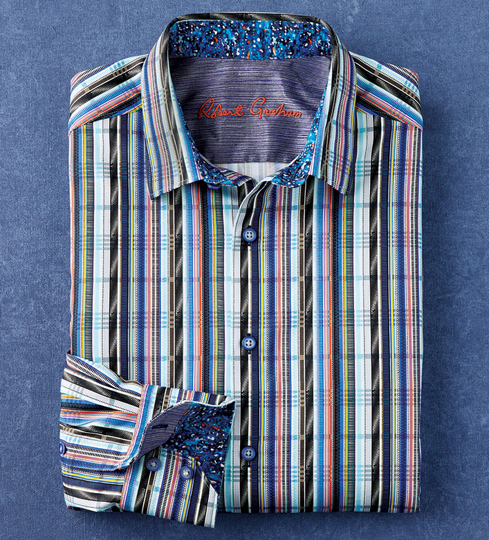 Robert Graham Spectrum Long Sleeve Sport Shirt