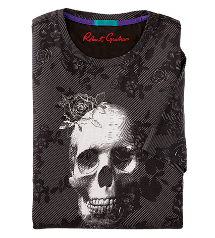 State of the Art Skull Short Sleeve Tee Shirt