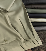 Wool Gabardine Slacks