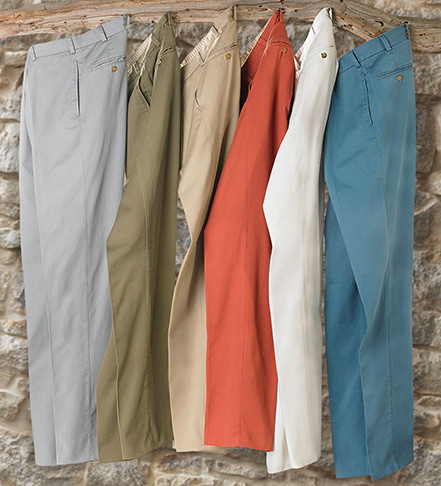 Bills Khakis Vintage Twill Flat Front Pants