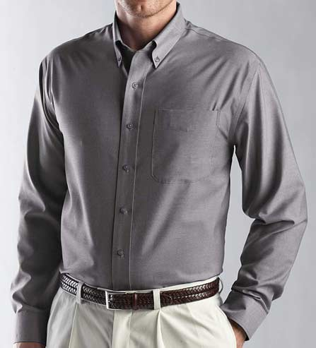 Cutter & Buck Long Sleeve Royal Oxford Shirt
