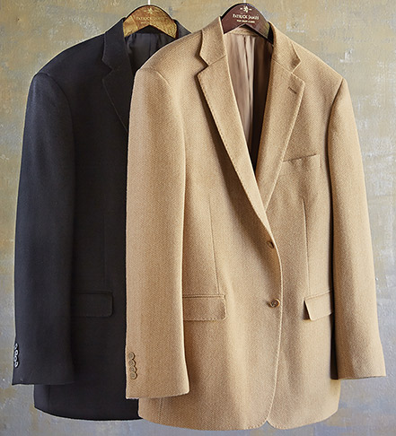 Patrick James Camel Hair Sport Coat