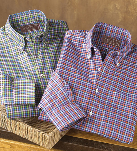 Reserve Long Sleeve Rhodes Check Shirt