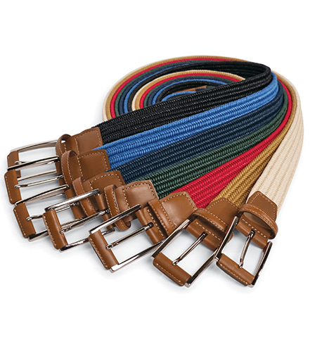 Torino Woven Stretch Belt